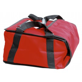 SAC TRANSPORT ROUGE PIZZA 450X450MM