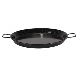 POELE A PAELLA EMAILLEE 24CM