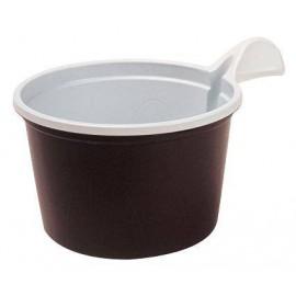 TASSE A CAFE BRUNE JETABLE 180 ML PAR 50