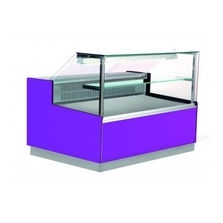 comptoir frigo vitre droite stuart 2000 2 6 lp horeca. Black Bedroom Furniture Sets. Home Design Ideas