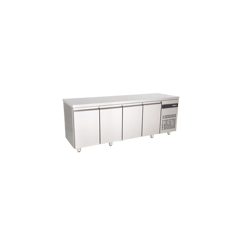 table frigo inox ventilee 4 portes gn 1 1 serie 700 lp horeca. Black Bedroom Furniture Sets. Home Design Ideas