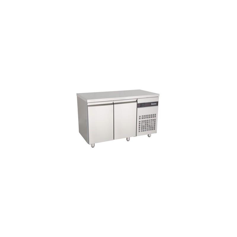 table frigo inox ventilee 2 portes gn 1 1 serie 700 lp horeca. Black Bedroom Furniture Sets. Home Design Ideas
