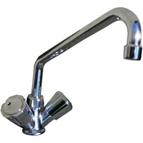 robinet melangeur eau chaude eau froide mono trou ouverture normale lp horeca. Black Bedroom Furniture Sets. Home Design Ideas