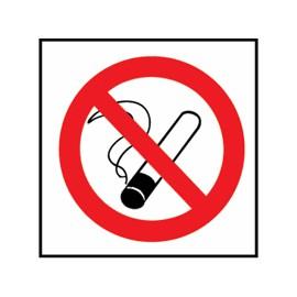 "AUTOCOLLANT "" NE PAS FUMER "" 10 X 10CM"