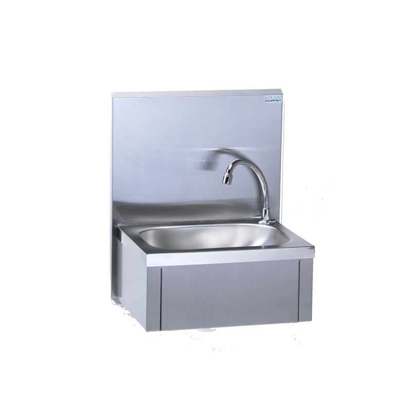 Lave mains a commande femorale dosseret tournus materiel - Commande femorale pour lave main ...