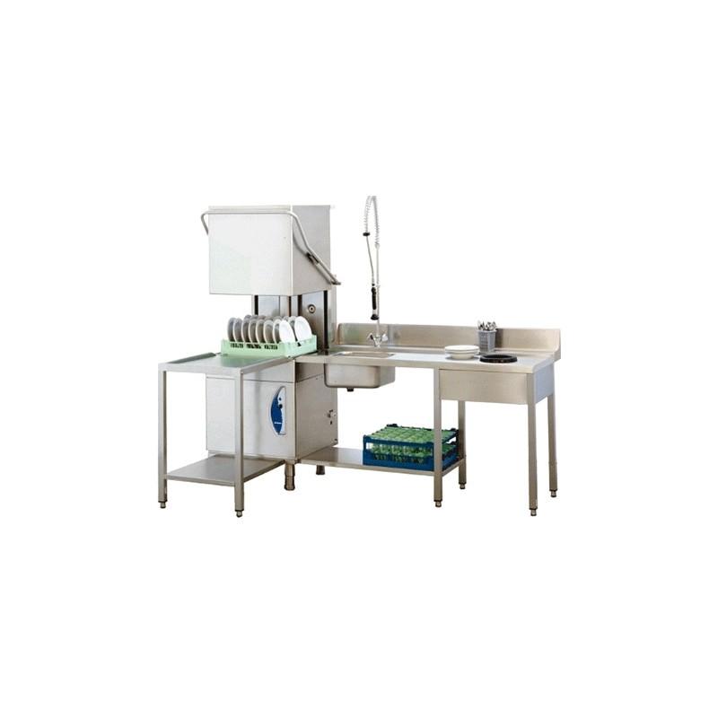 Lave vaisselle a capot 015 24l lamber materiel horeca for Plonge cuisine professionnelle