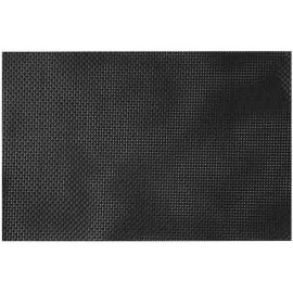 set de table plastique lavable noir 45x30 par 12 lp horeca. Black Bedroom Furniture Sets. Home Design Ideas