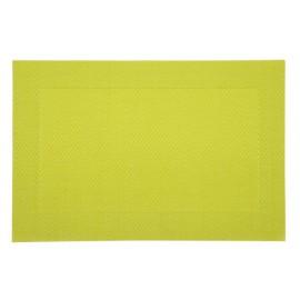 set de table plastique lavable vert 45x30 a la piece lp horeca. Black Bedroom Furniture Sets. Home Design Ideas