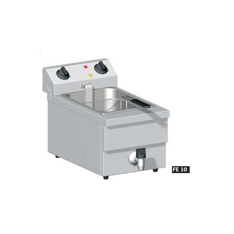 Friteuse de table electrique 10l fe10 lp horeca materiel for Equipement electrique cuisine