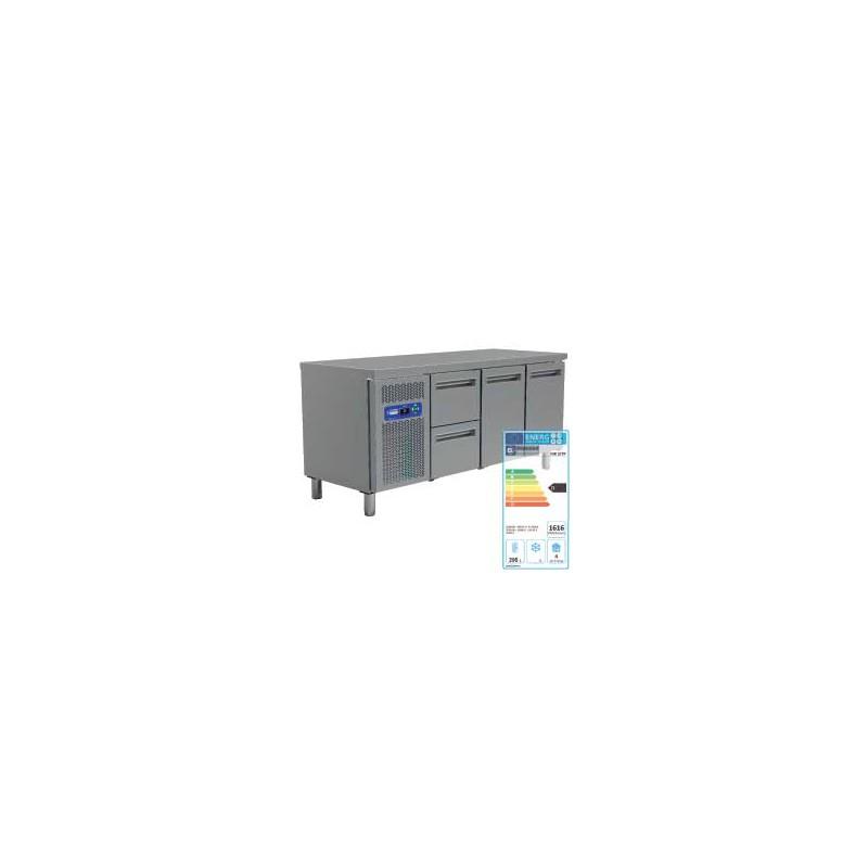 table frigo 2 portes gn 1 1 1 bloc de 2 tiroirs table refrigeree. Black Bedroom Furniture Sets. Home Design Ideas