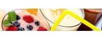 Jus de fruits / Milkshake / Chocolat chaud